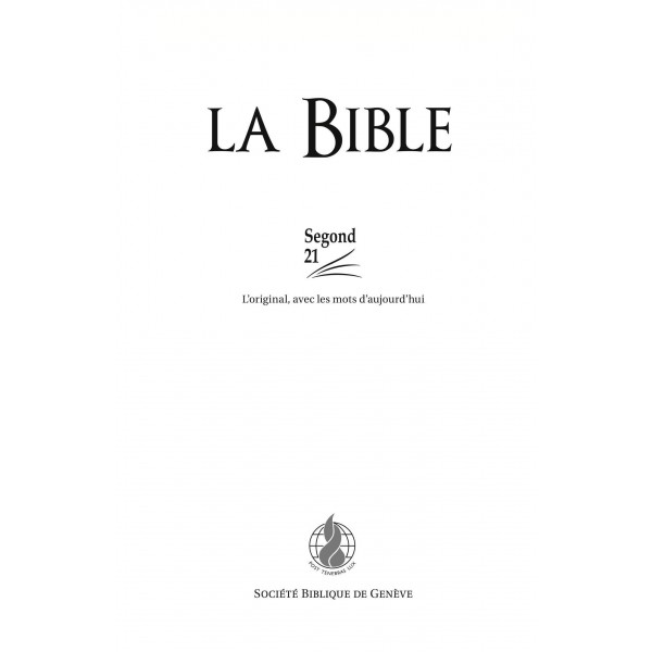 la bible version louis segond 1910 pdf